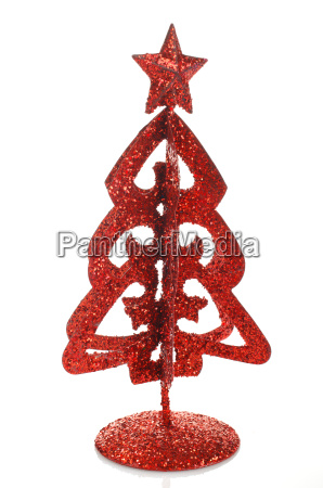 christmas decoration red tree