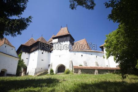 festungskirche von viscri unesco weltkulturerbe