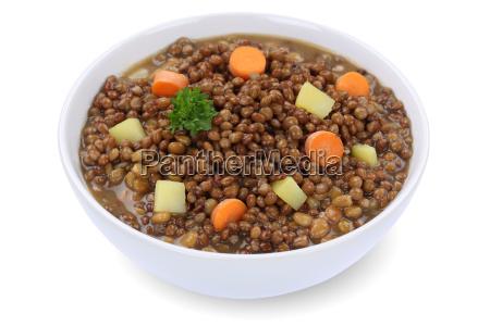 lentil soup lentils soup in soup