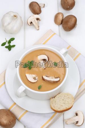 pilzsuppe, pilz, champignon, pilze, suppe - 15256311