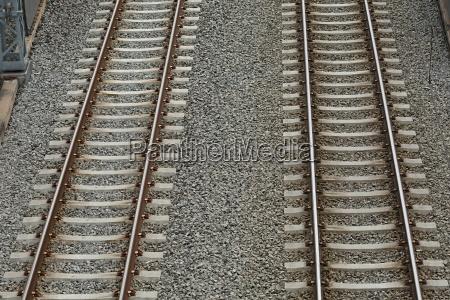railway tracks pair