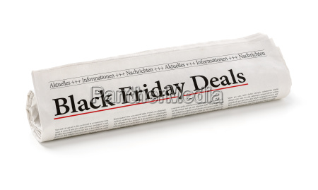 newspaper troll headlined black friday deals