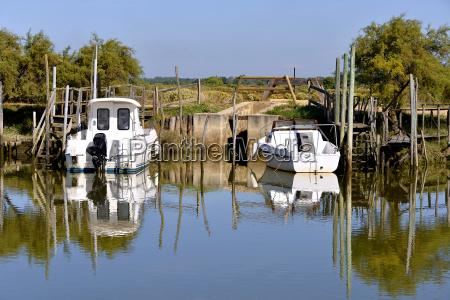port of audenge in france
