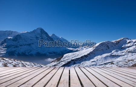 erster berg grindelwald schweiz