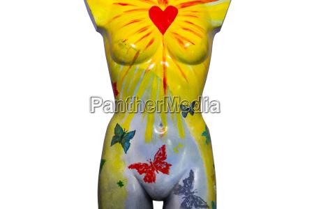 kunst freisteller mode weiblich abgeschieden schaufensterpuppe