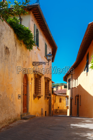 old roman street in florence tuscany