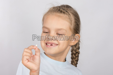 six year old girl with a
