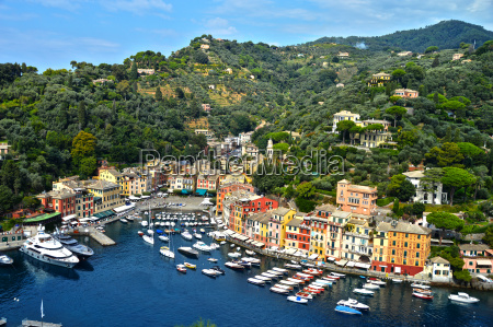 city of portofino liguria italy