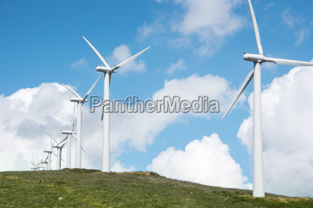 onshore wind power plant