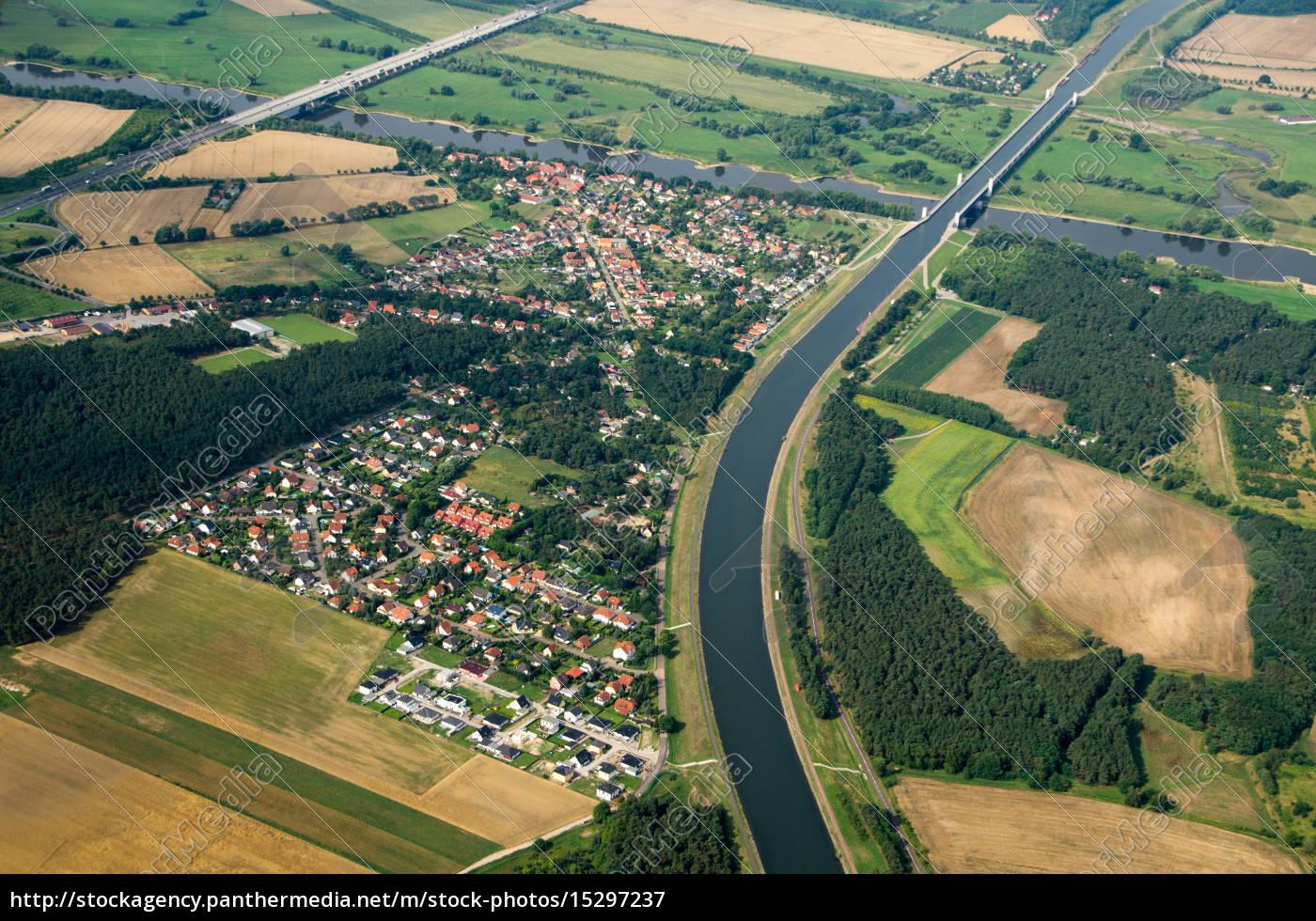 wasserstraßenkreuz, magdeburg - 15297237