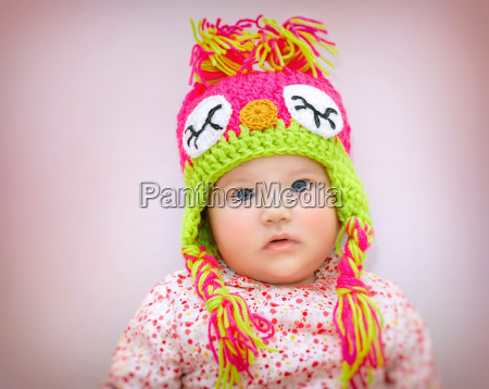 beautiful baby portrait
