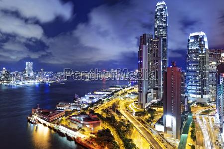 hong, kong, city, night - 15305369