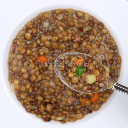 lentil soup eat lentils soup spoon