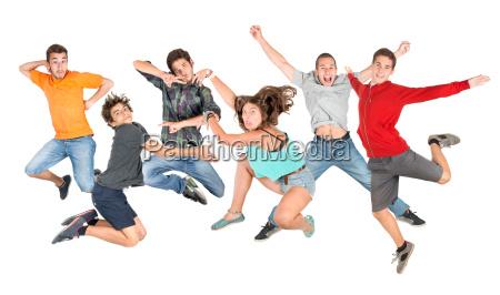teens springen