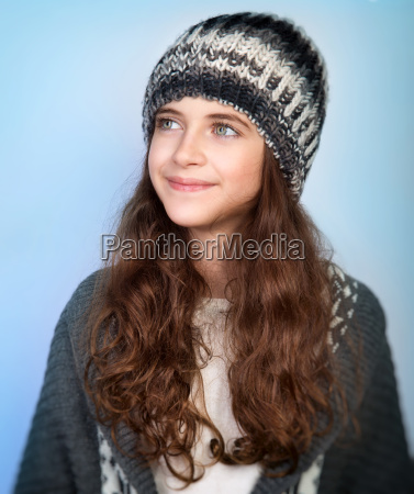 stylish teen model