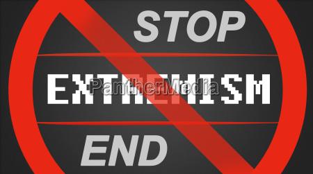 stopp ende extremismus