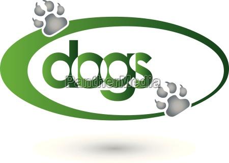 hunde logo dogs logo pfote