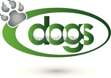 hunde logo dogs pfote