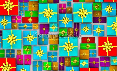 weihnachtsgeschenke hintergrund