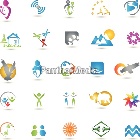 collection of logos services