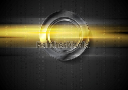 abstract tech shiny glow vector background
