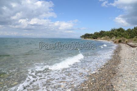 coast at milli park in kusadasi