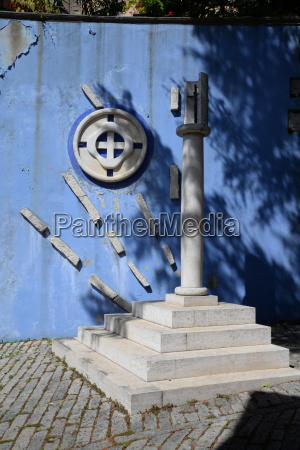 sculpture in labin croatia