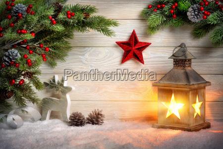 stylish ornamental christmas arrangement