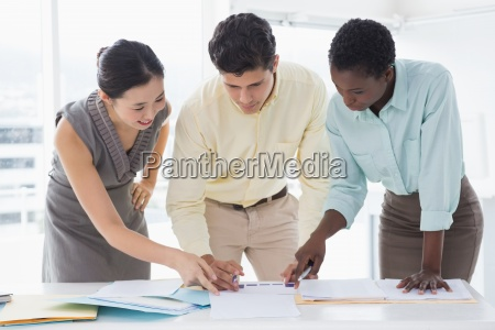 business team working together at a