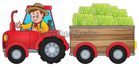 macchinario persona veicolo trattore contadino attrezzatura