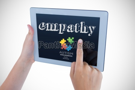 empathy, against, autism, awareness, day - 15459415
