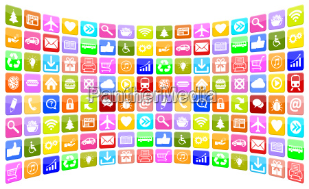 application apps app icon icons sammlung