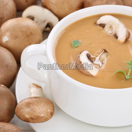 mushroom soup mushroom mushrooms soup with