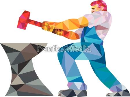 amboss haemmern hufschmied hammer