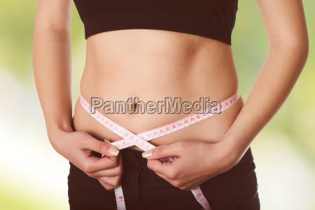 measuring slim waist