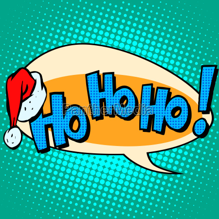 hohoho santa claus good laugh comic