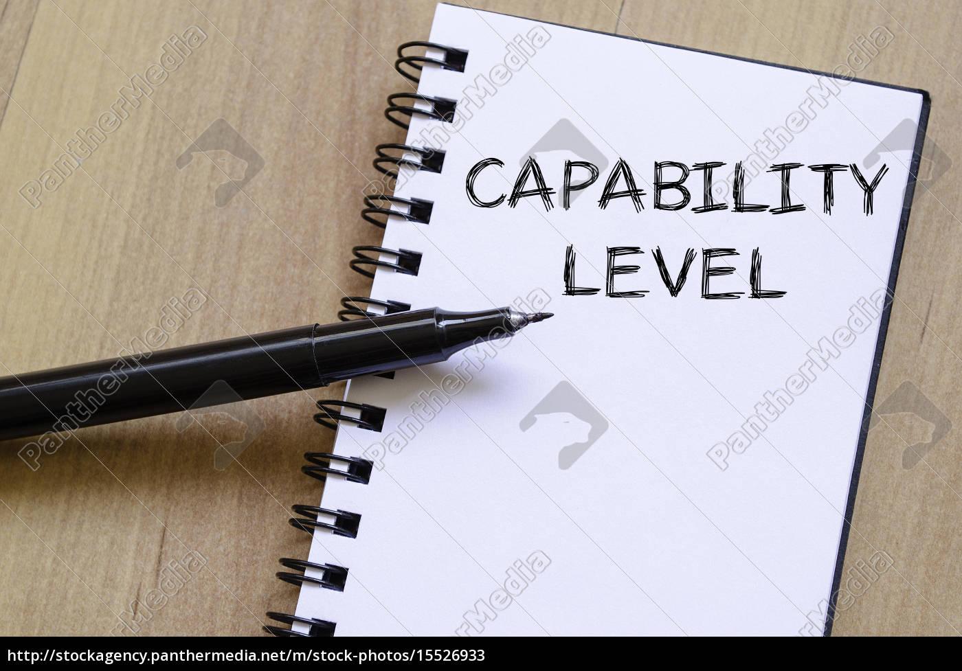 schreiben, auf, fähigkeitsebene, auf, notizbuch - 15526933