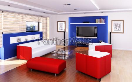 wohnzimmer moderner stil