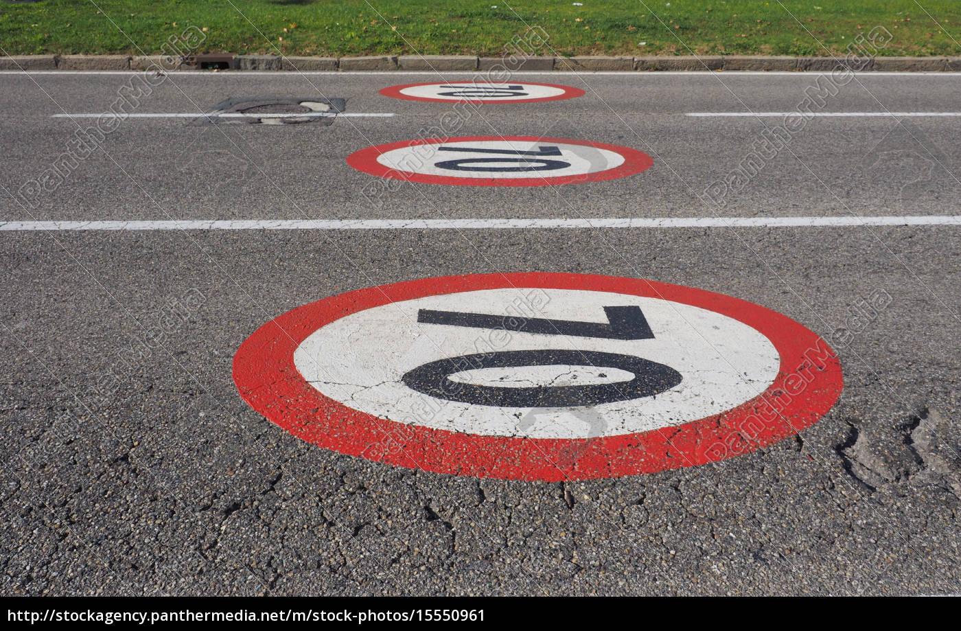 höchstgeschwindigkeit, zeichen - 15550961