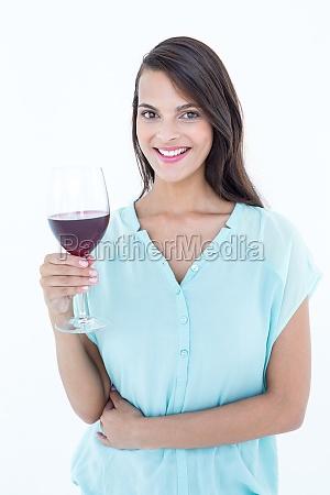 smiling woman looking at the camera