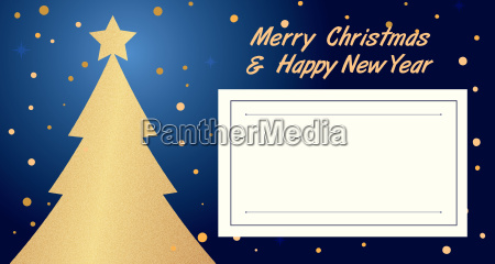 begruessung baum karte einladung weihnachtszeit christmas