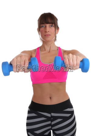 sport workout fitness training woman holding