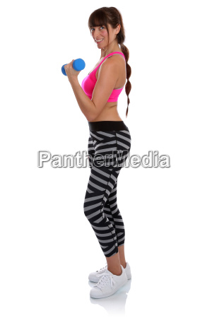 sport fitness woman at workout training