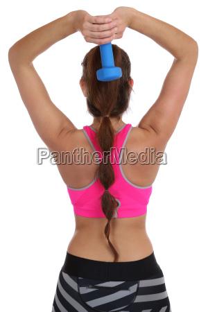 fitness woman at sports workout workout