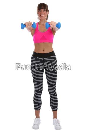 sports workout fitness training woman keeping