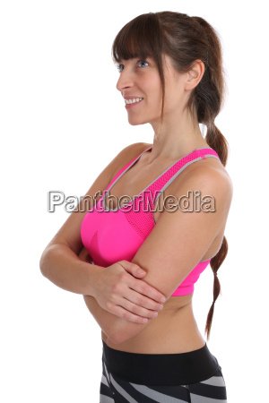 fitness workout woman at sports workout