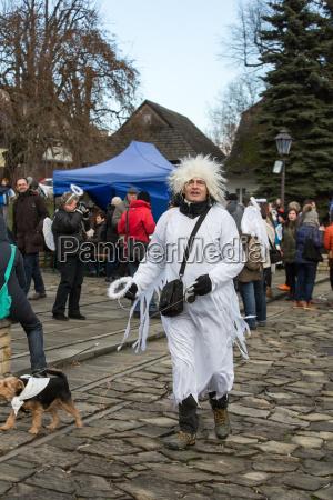 der winter festival engel in der