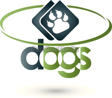 dogs logo hunde pfote
