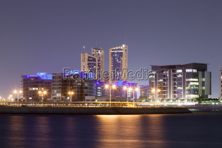 residential area of manama city at