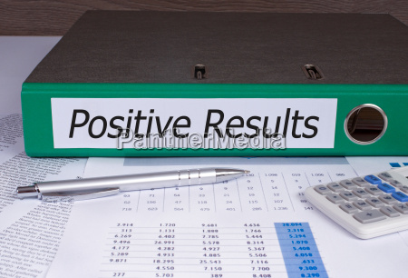 positive results binder in the office